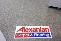 commercial flooring installer