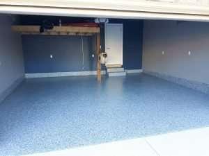 garage epoxy floor Burlington