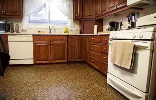concrete kitchen floor resurfacing